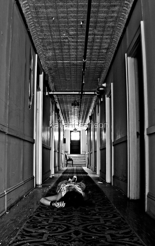 Zone of Silence- Self Portrait- Abandoned Hotel, NY by MJD Photography  Portraits and Abandoned Ruins