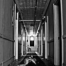 Zone of Silence- Self Portrait- Abandoned Hotel, NY by kailani carlson