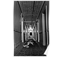 Zone of Silence- Self Portrait- Abandoned Hotel, NY Poster