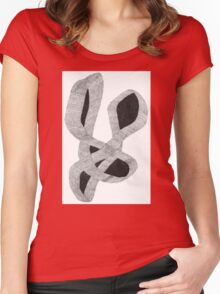 Intertwined Women's Fitted Scoop T-Shirt