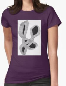Intertwined Womens Fitted T-Shirt