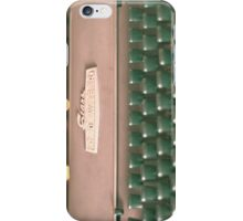 Typewriter and Magic Lights  iPhone Case/Skin