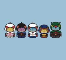 Chibi-Fi Gatchaman Kids Clothes