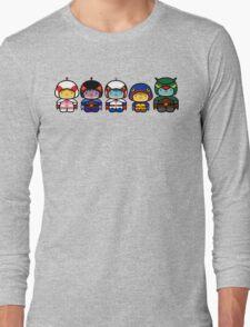 Chibi-Fi Gatchaman Long Sleeve T-Shirt