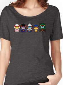 Chibi-Fi Gatchaman Women's Relaxed Fit T-Shirt