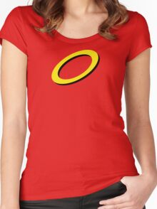 A Halo for an Angel Women's Fitted Scoop T-Shirt