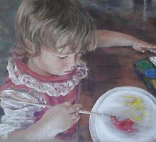 Little Artist by Olga-Parr