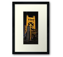 Tower Bridge, Sacramento Framed Print