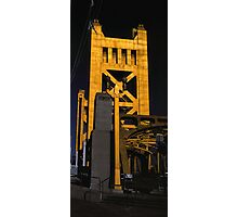 Tower Bridge, Sacramento Photographic Print