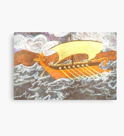Ship at Sea Canvas Print