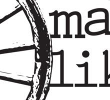 Wagon Wheel Sticker