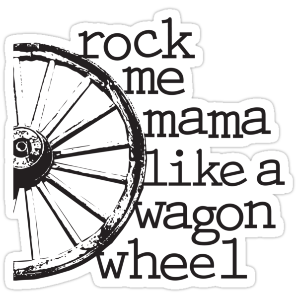 Wagon Wheel by Erica Gulliver