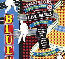 Semaphore Workers Club- Blues Venue by Marie Gudic
