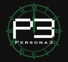 Persona 3 Logo + Dark Hour by DaKirbyDood