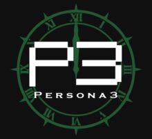 Persona 3 Logo + Dark Hour T-Shirt