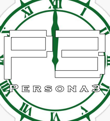 Persona 3 Logo + Dark Hour Sticker
