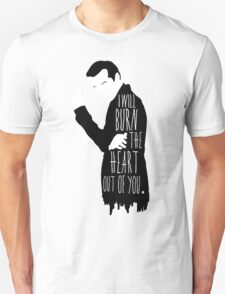 Out of you.  Unisex T-Shirt