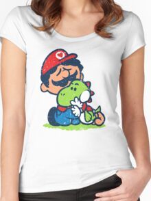 SUPER PALS! Women's Fitted Scoop T-Shirt