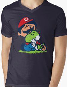 SUPER PALS! Mens V-Neck T-Shirt