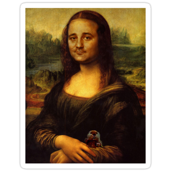 Bill Murray as Mona Lisa by Charles McFarlane