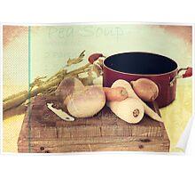 Pea Soup Poster