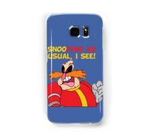 "Robotnik ""SnooPing As usual"" Samsung Galaxy Case/Skin"