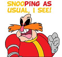 "Robotnik ""SnooPing As usual"" by 4xUlt"