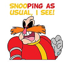 """Robotnik """"SnooPing As usual"""" Photographic Print"""