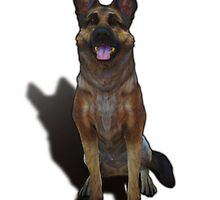 Dogmeat - Fallout 4 by Ragcity
