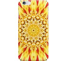 sunburst floral iPhone Case/Skin