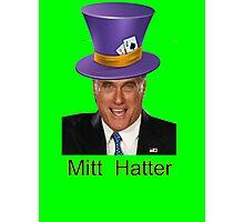 Mitt Romney 2012 mad Hatter Photographic Print