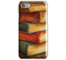 VINTAGE BOOKS iPhone Case/Skin