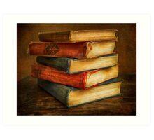 VINTAGE BOOKS Art Print