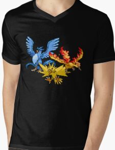 Legendary Birds Mens V-Neck T-Shirt