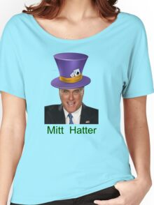 Mitt Romney 2012 mad Hatter Women's Relaxed Fit T-Shirt