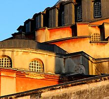 Detail of the back of Hagia Sophia, Istanbul by ThisMoment