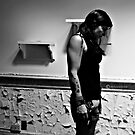 Mellow Madness- Self Portrait- Abandoned Asylum, NY by kailani carlson