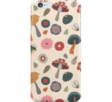 Woodland Floral Seamless Pattern iPhone Case/Skin