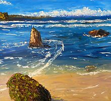Kiama Beach  by PamelaMeredith