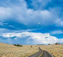 Stormy Road by Chris Tarling