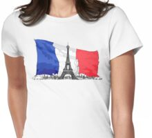 Paris / France / Eiffel Tower Womens Fitted T-Shirt
