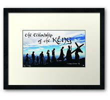 Fellowship of the King ~ 1 Corinthians 1:9 Framed Print