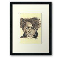 Johnny Depp - Ichabod Crane Framed Print