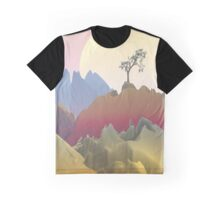 Fantasy Mountain Graphic T-Shirt