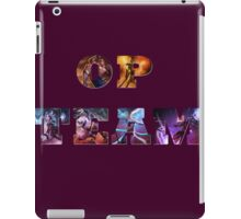 OP TEAM iPad Case/Skin