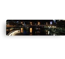 Melbourne Night Canvas Print