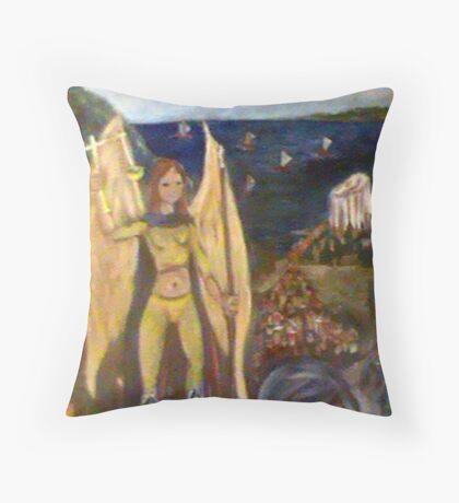 The Epic of Libra Throw Pillow