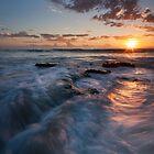 """Sunset Swirl"" by Heather Thorning"
