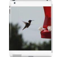 Hummingbird close-up iPad Case/Skin