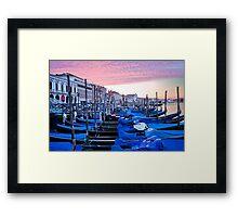 Sunrise in Venice I Framed Print